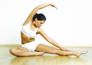 Exercising and stretching are important to maintain mobility
